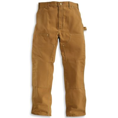 Carhartt Men's Firm Duck Double-Front Work Dungaree Pant