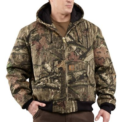 Carhartt Men's Quilted Flannel Lined Workcamo Active Jacket