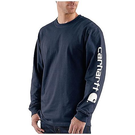 Carhartt Men's Signature Sleeve Graphic Long Sleeve T-Shirt