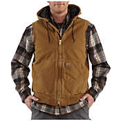 Carhartt Men's Sandstone Hooded Active Vest