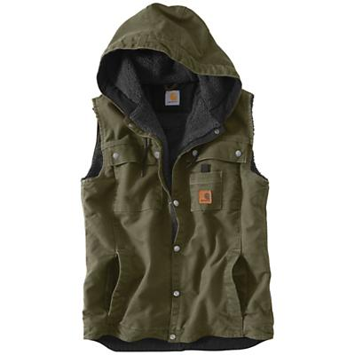 Carhartt Men's Sandstone Hooded Multi Pocket Vest