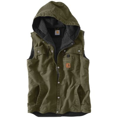 Carhartt Men's Sandstone Hooded Multi Pocket Vest