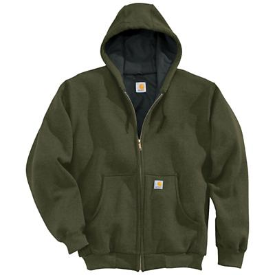 Carhartt Men's Thermal Lined Hooded Zip Front Sweatshirt