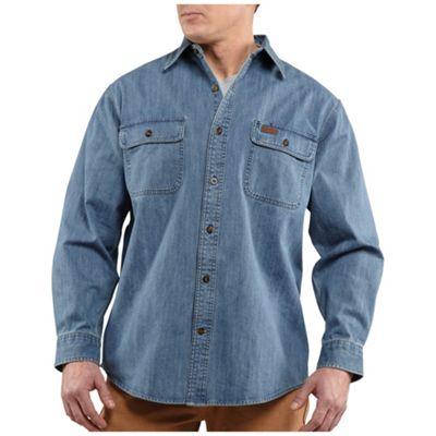 Carhartt Men's Washed Denim Work Shirt