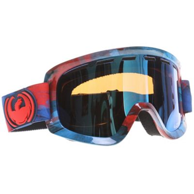 Dragon D1 Goggles Retro Tort/Gold Ionized + Amber Lens - Men's