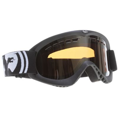 Dragon DX Goggles Pop Red/Jet + Amber Lens - Men's