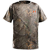 Under Armour Boys' Evo HG Camo Short Sleeve Top