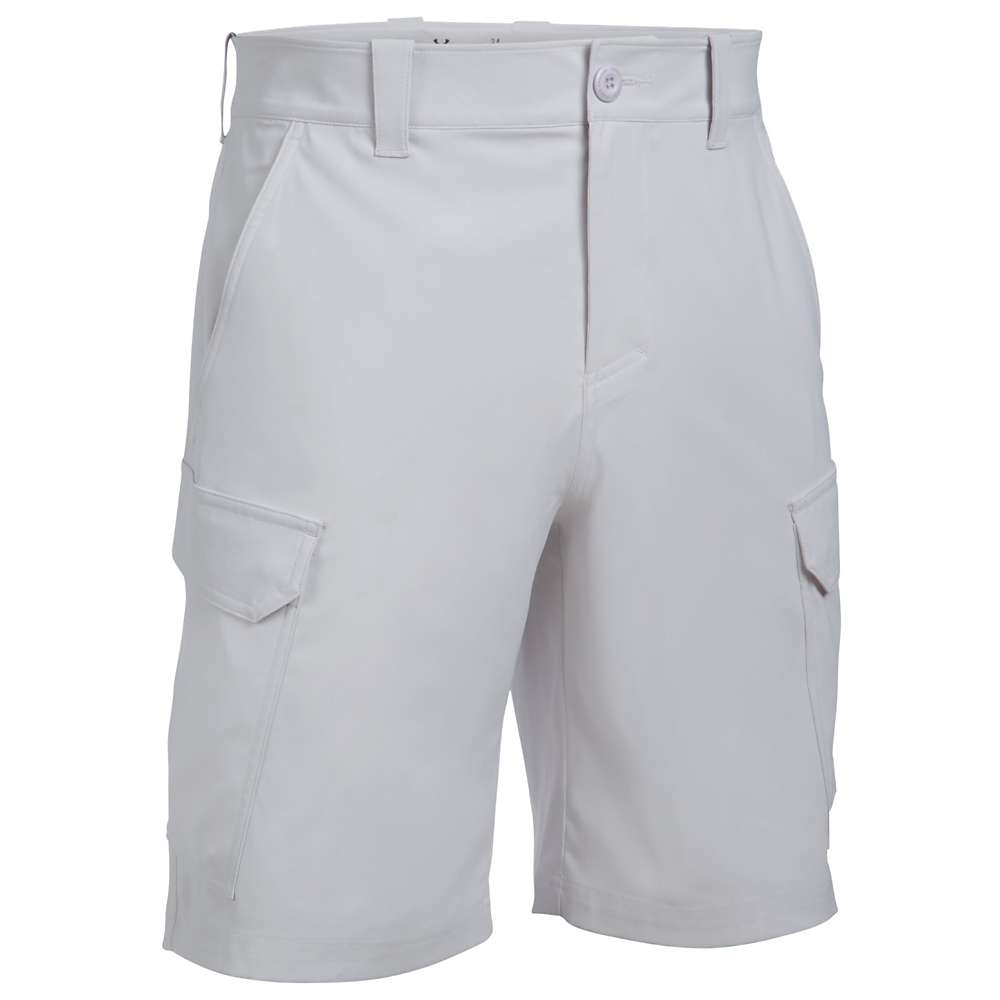 Under Armour Men's UA Fish Hunter Cargo Short - 30 - Glacier Grey / Steel
