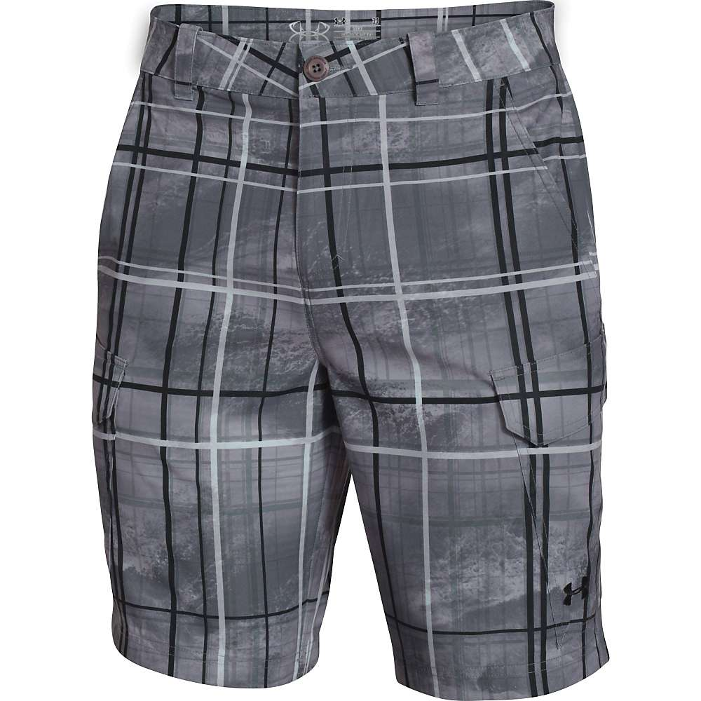 Under armour men 39 s fish hook cargo short at for Under armour fishing shorts