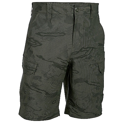 Under Armour Men's UA Fish Hunter Cargo Short Downtown Green / Artillery Green