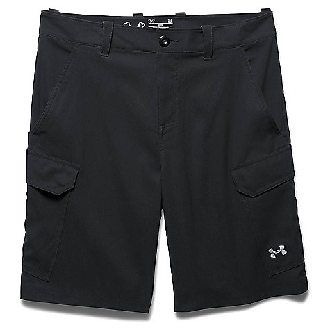 Under Armour Men's UA Fish Hunter Cargo Short Black / Amalgam Grey