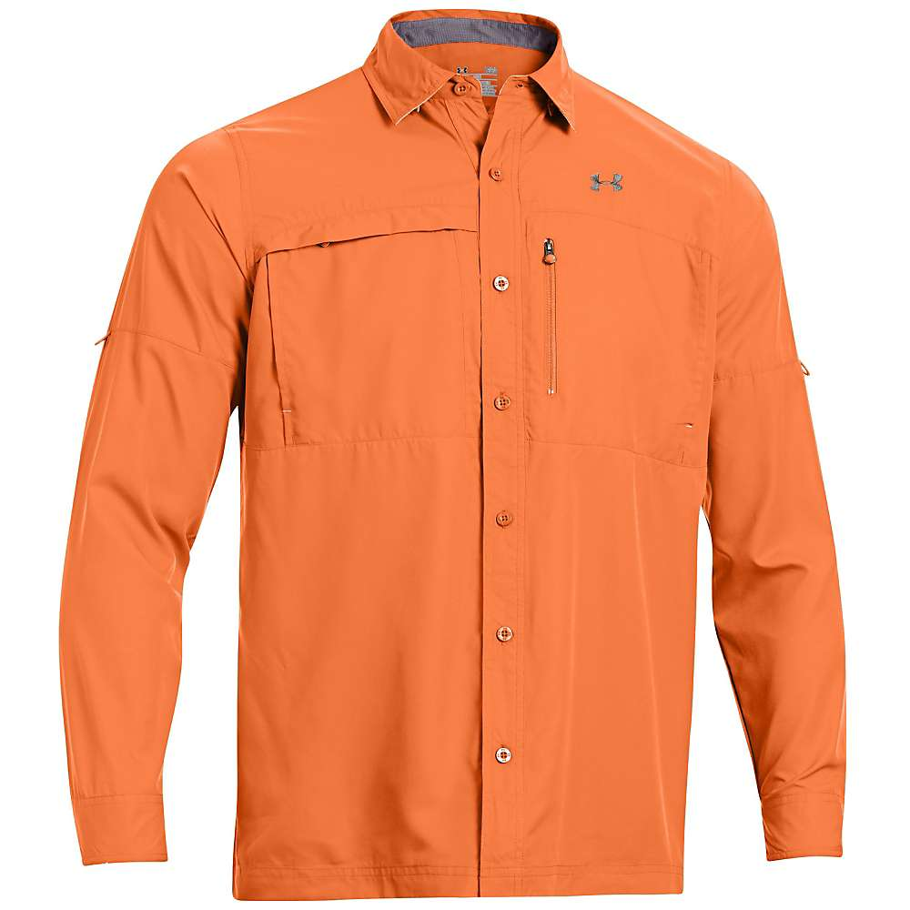 Under armour men 39 s flats guide long sleeve shirt at for Jawbone fishing shirts