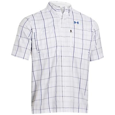 Under Armour Men's Flats Guide Short Sleeve Plaid Shirt