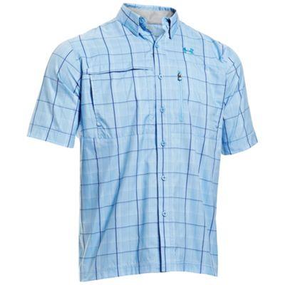 Under Armour Men's Flats Guide SS Plaid Shirt