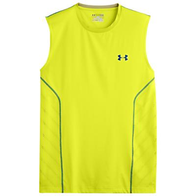 Under Armour Men's Heatgear Sonic Armourvent Sleeve Less T Shirt