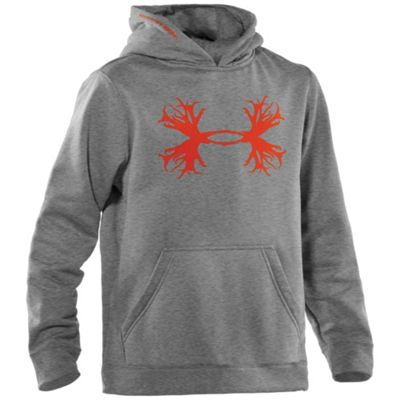 Under Armour Boys' Solid Antler Hoody