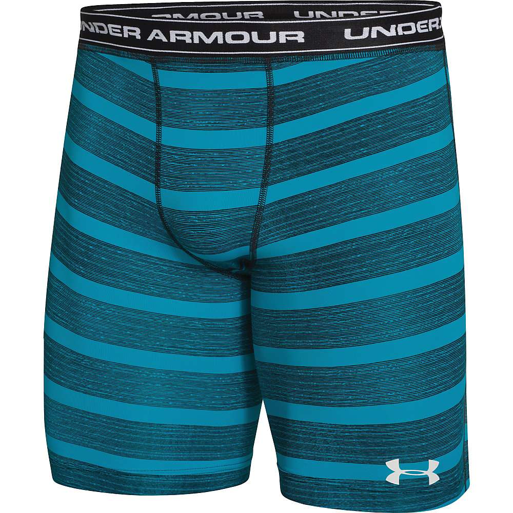 Under Armour Men's UA Essential Solid Compression Short - XXL - Deceit / White