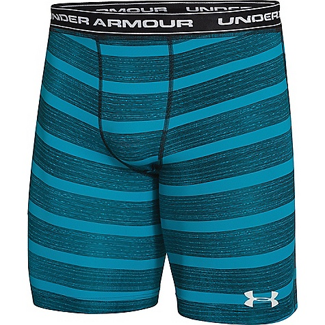 Under Armour Men's UA Essential Solid Compression Short Deceit / White