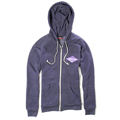 Moosejaw Women's Shady Tree Tri-Blend Zip Hoody