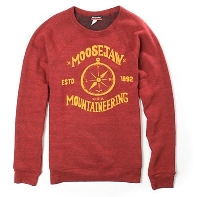 Moosejaw Men's Show Me The Way Tri-Blend Crew Sweatshirt