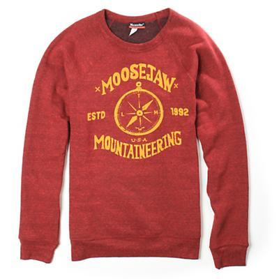 Moosejaw Men's Show Me The Way Tri-Blend Crew Sweatshirt