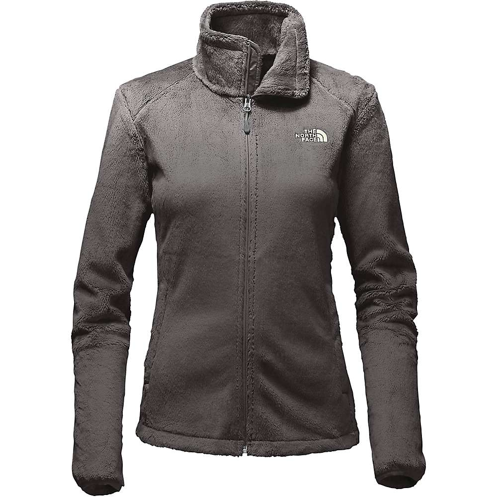 The North Face Women's Osito 2 Jacket - Small - Asphalt Grey / Ambrosia Green