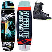 Hyperlite Franchise Wakeboard 138 w/ Team Ot Boots - Men's