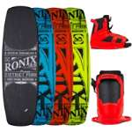 Ronix District Park Wakeboard 138 w/ District Boots - Men's