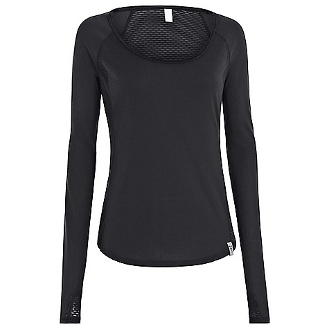 Under Armour Women's UA Fly By Longsleeve Top Black / Reflective