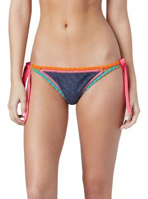 Roxy Women's Sun Bleached Brazilian Pant Bikini Bottom