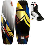 Liquid Force S4 Wakeboard 142 w/ Transit Bindings - Men's