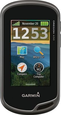 Garmin Oregon 650 Handheld GPS