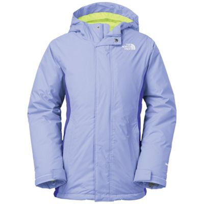The North Face Girls' Insulated Violet Jacket