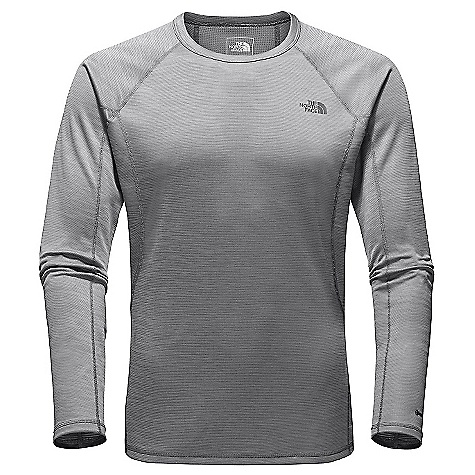photo: The North Face Men's Light Crew Neck long sleeve performance top