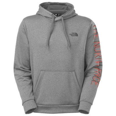 The North Face Men's Linear Sleeve Surgent Pullover Hoodie