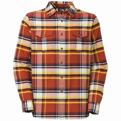The North Face Men's L/S Bearhead Plaid Shirt