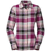 The North Face Women's L/S Pomaria Plaid Shirt