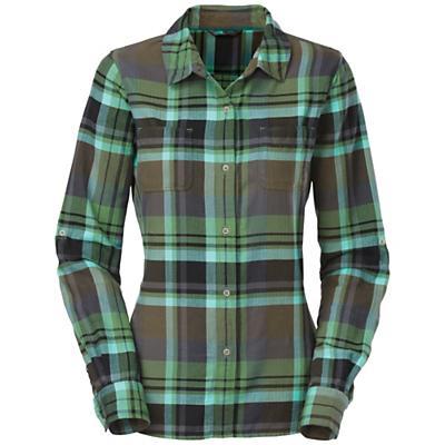 The North Face Women's L/S Pomaria Plaid Shirt