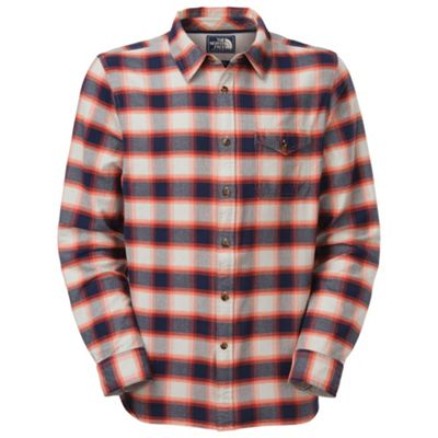 The North Face Men's L/S Waxhaw Plaid Shirt