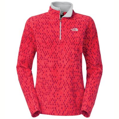 The North Face Women's Printed TKA Glacier 1/4 Zip