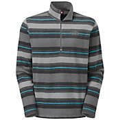 The North Face Men's TKA 100 Printed Glacier 1/4 Zip
