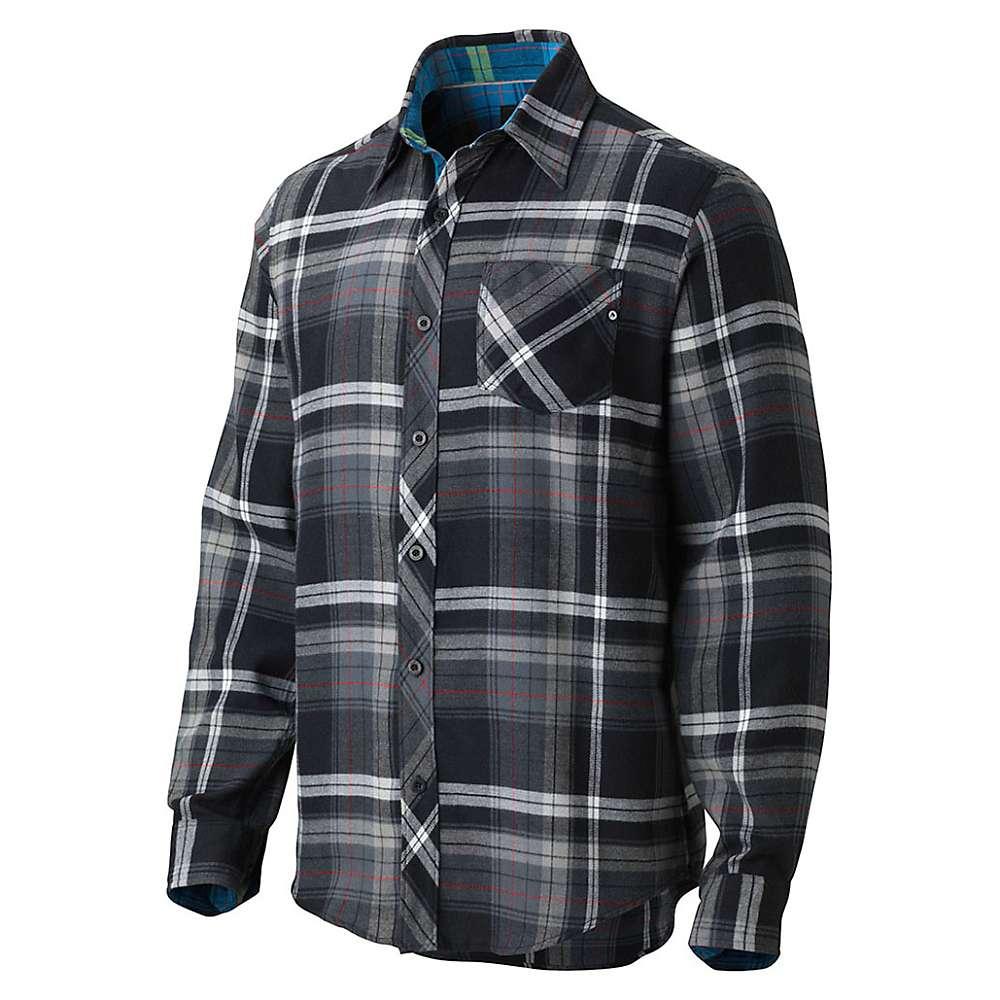 Marmot men 39 s anderson flannel long sleeve shirt for Marmot anderson flannel shirt men s