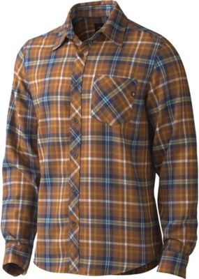 Marmot Men's Central Flannel Long Sleeve Shirt