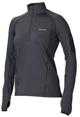 Marmot Women's Elance 1/2 Zip Long Sleeve Jacket