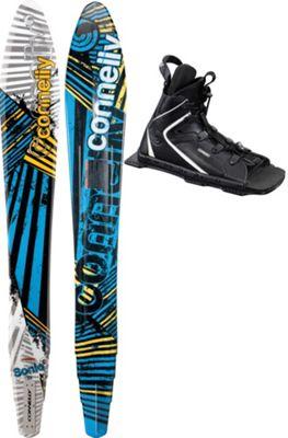 Connelly Sonic Slalom Waterskis 65 w/ Nova/Adj Rtp Bindings