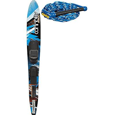 Connelly Shortline Ski 67 w/ Front Adj Velcro/Rts Bindings + Rope - Women's