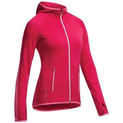 Icebreaker Women's Atom Long Sleeve Zip Hood