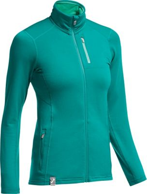 Icebreaker Women's Cascade Long Sleeve Zip Jacket