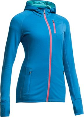 Icebreaker Women's Quantum Long Sleeve Hood