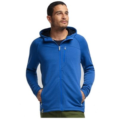 Icebreaker Men's Sierra Plus Long Sleeve Zip Hood